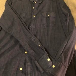 Men's large American rag long sleeve shirt